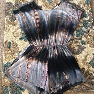 Pants - Tie-dyed romper